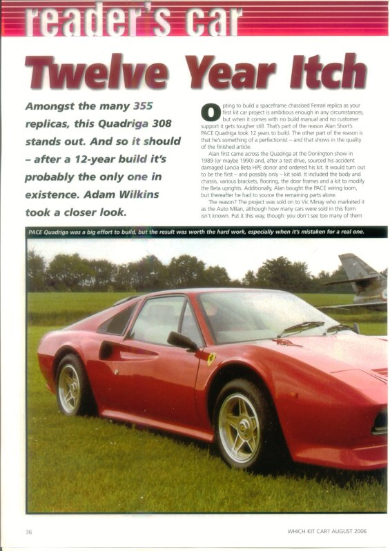 Reader's Cars - Twelve Year Itch - Cover Page